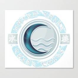 Water Tribe Chief Canvas Print