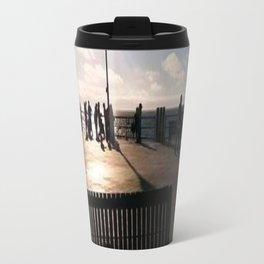 A Bench Tells Many Stories Travel Mug
