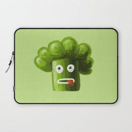 Stressed Out Broccoli Laptop Sleeve