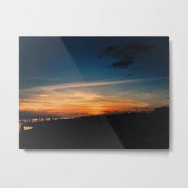 Twilight Hue Metal Print