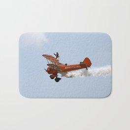 Biplane Wing Walker Bath Mat