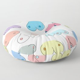 Boobies Floor Pillow