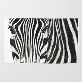 Striped in BW Rug