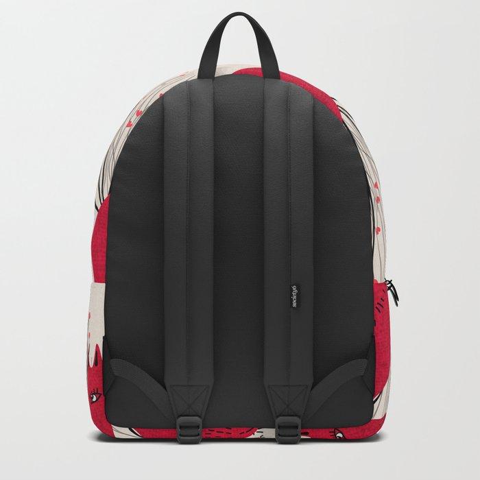 Fox in Shrub Backpack