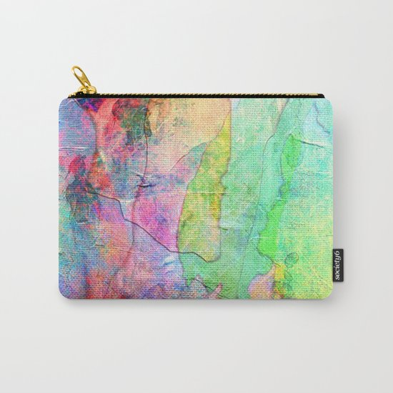 Abstract Texture 01 Carry-All Pouch
