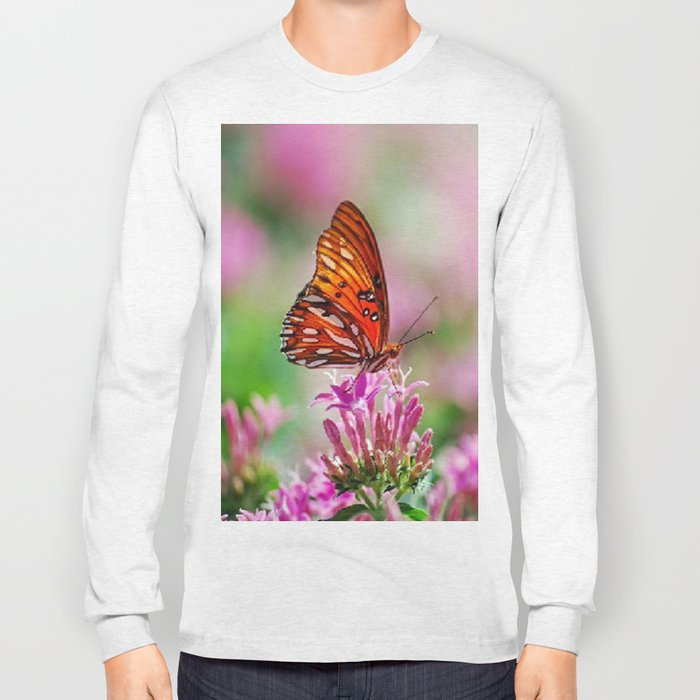 Wedding Butterfly Long Sleeve T-shirt