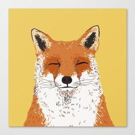 Mr. Fox Canvas Print