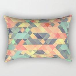 Autumn Mosaic Dreams Rectangular Pillow