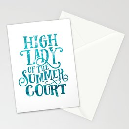 High Lady Summer Court ACOTAR Stationery Cards