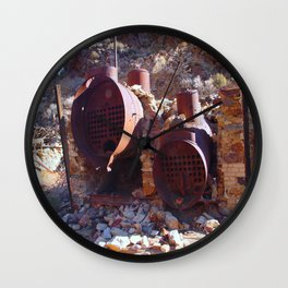 Ballarat Ghost Town Wall Clock