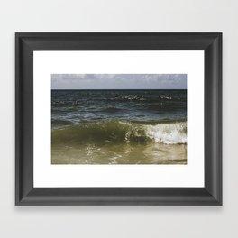 oceanic blues Framed Art Print