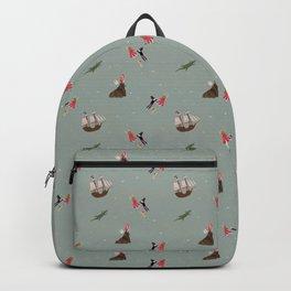 Neverland Pattern Backpack