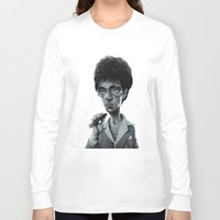 scarface Long Sleeve T-shirts featuring Scarface by Nicolas Villeminot