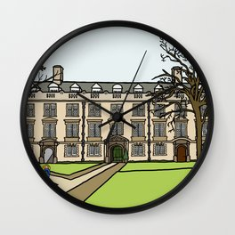 Cambridge struggles: Christ's College Wall Clock