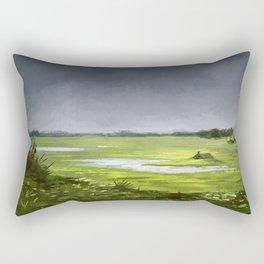 Fields of Rain Rectangular Pillow