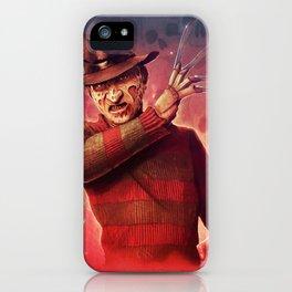 Freddy Krueger by Big Foot Studios iPhone Case
