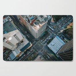 New York City Skyscaper View Cutting Board