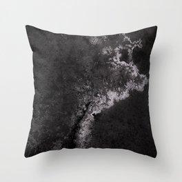 Salted Stars Throw Pillow