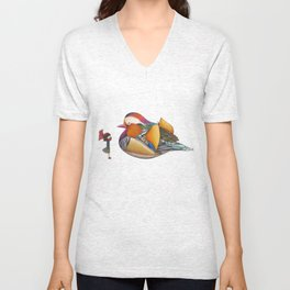 Rooftop Encounter Unisex V-Neck