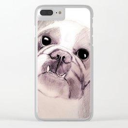 Bully Bull Dog Clear iPhone Case