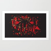 spider man Art Prints featuring Spider man by Timothy Wood