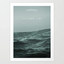 A MOVIE POSTER A DAY: LIFE OF PI Art Print