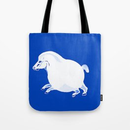 Fat Horse Tote Bag