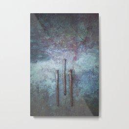 Three Nails Metal Print