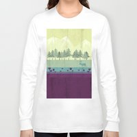 wildlife Long Sleeve T-shirts featuring Wildlife by Kakel