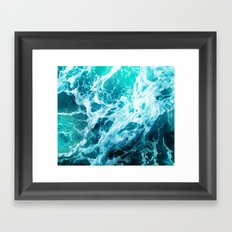 Out there in the Ocean Framed Art Print