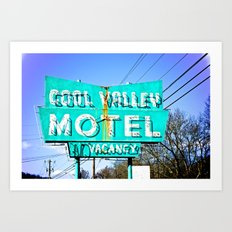 Cool Valley Art Print