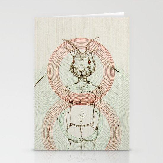 my bunny Stationery Cards