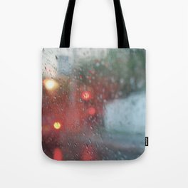 """Rain drops vibes"" Tote Bag"