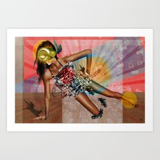Thirstily Modern Life Style Dreams Art Print