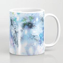 galaxy in blue Coffee Mug