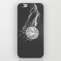 jelly fish iPhone & iPod Skins featuring Jelly Fish by Terri Ellis