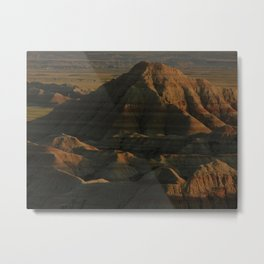 Straight Outta Them Badlands Metal Print
