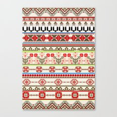 Traditional pattern Canvas Print