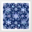 Snowflakes #3 by julianarw