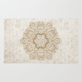 Mandala Temptation in Cream Rug