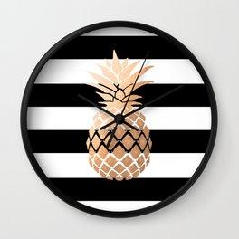 Pineapple Vibes Wall Clock