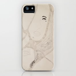 two sides to a story iPhone Case