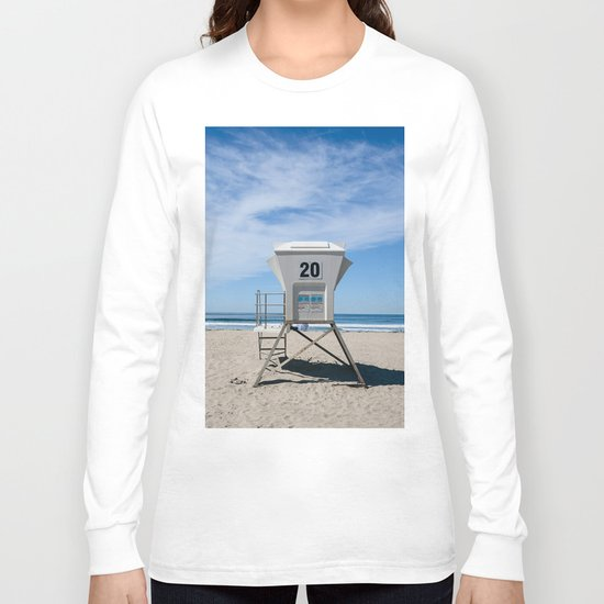 California Beach Day II Long Sleeve T-shirt