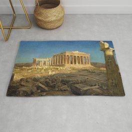 Frederic Edwin Church - The Parthenon - Digital Remastered Edition Rug