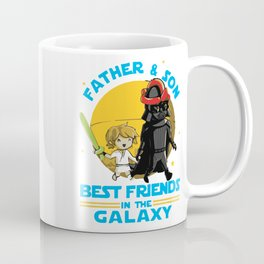 Father and Son in the Galaxy Coffee Mug