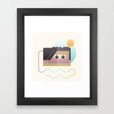 Summer Rhythm Framed Art Print