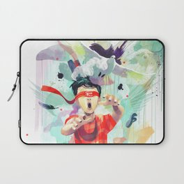 Pursuit of Happiness (Blindfolded) Laptop Sleeve