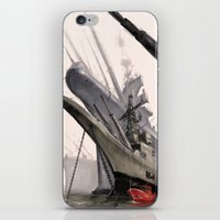 ships iPhone & iPod Skins featuring ships by Nathanaël Ferdinand