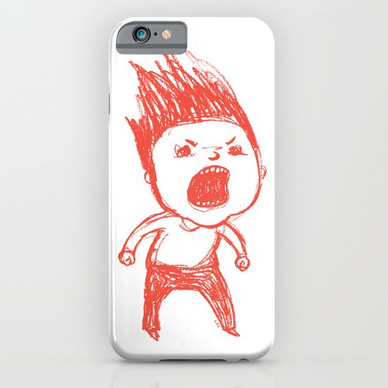 Angry Guy iPhone & iPod Case