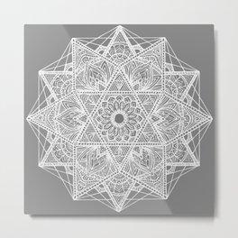 Untitled I (gray) Metal Print